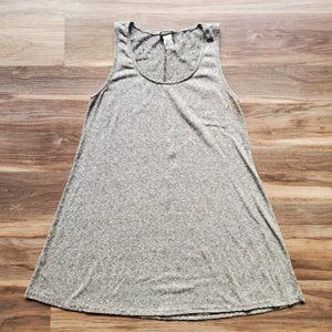 Love Culture Easy Striped Swing Tank Dress